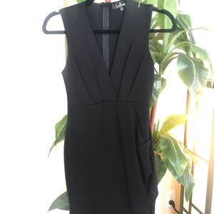 Lulu's V-Neck Dress